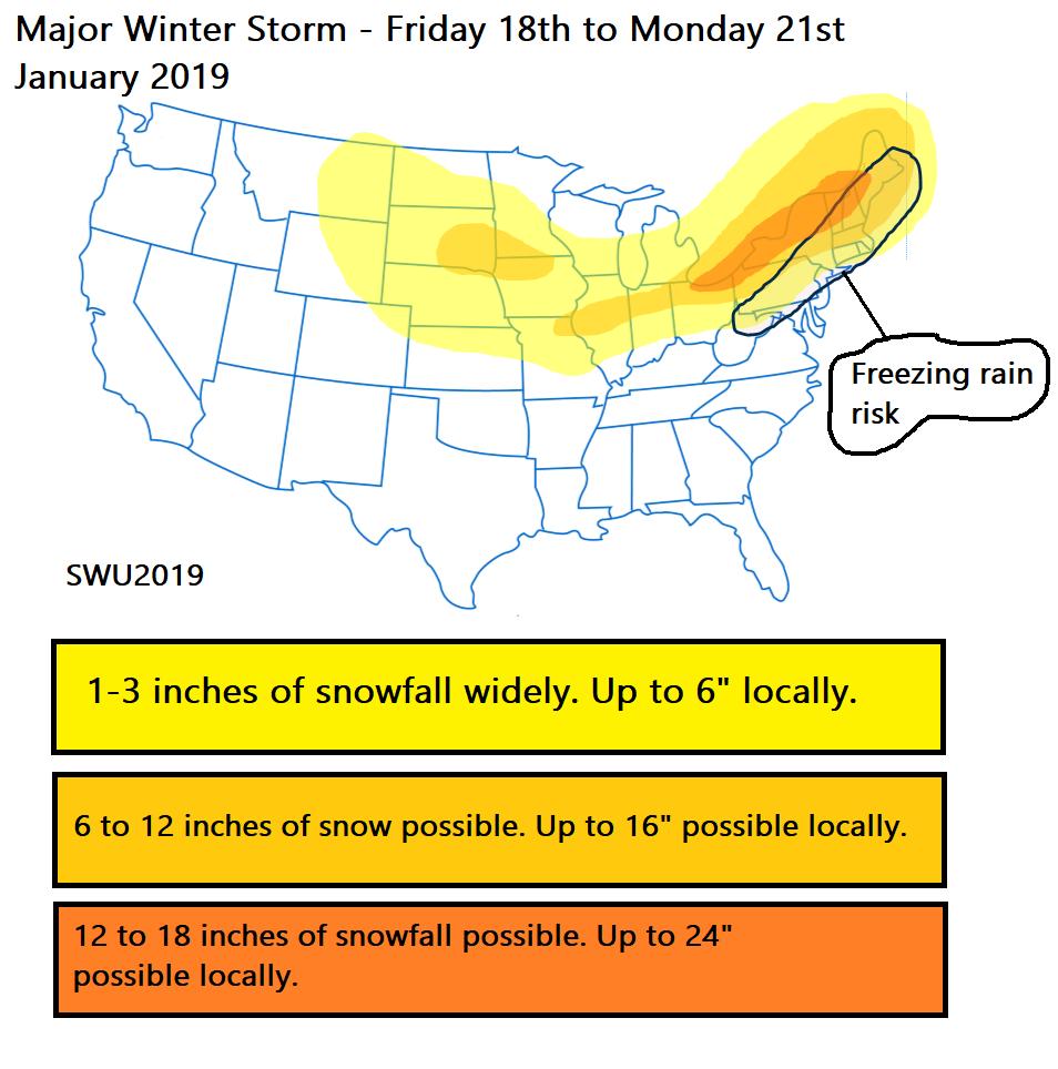 Major snow storm forecast